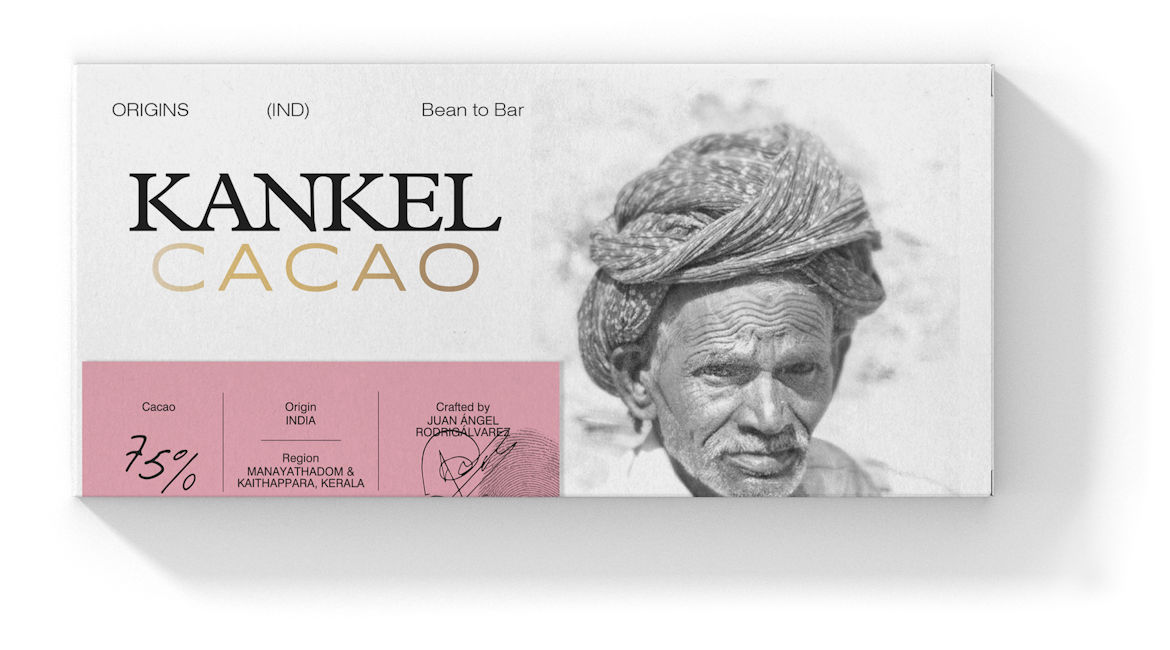 Kankel Cacao Origins - India - Bean to Bar