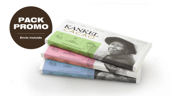 Kankel Cacao Origins - Bean to Bar - Pack Promo 3 tabletas