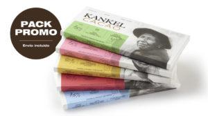 Kankel Cacao Origins - Bean to Bar - Pack Promo 5 tabletas