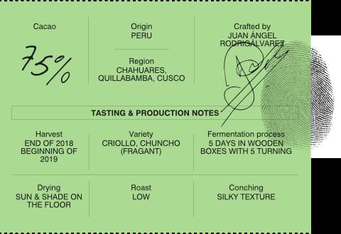 Kankel Cacao Origins - Perú - Bean to Bar