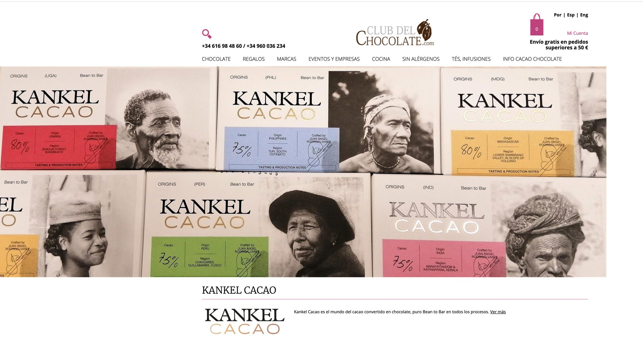 Kankel Cacao - Bean to Bar - Recorre el mundo del cacao - Club del chocolate